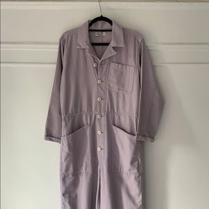 Madewell x As Ever Lavender Jumpsuit